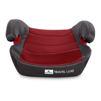 Automobilinė kėdutė Lorelli Travel Luxe ISOFIX Red 3