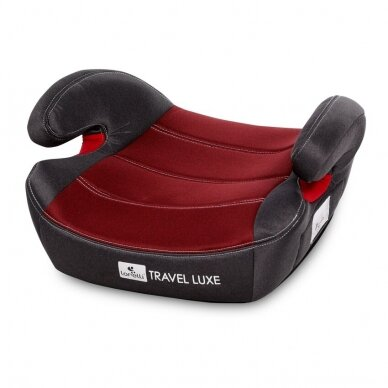 Automobilinė kėdutė Lorelli Travel Luxe ISOFIX Red