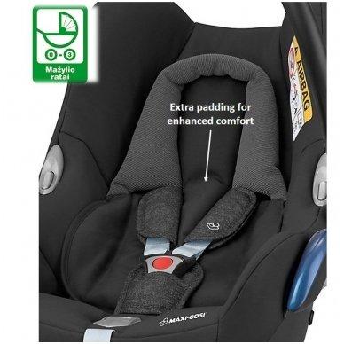 Automobilinė kėdutė Maxi-Cosi CabrioFix 0-13 kg, Sparkling grey 2
