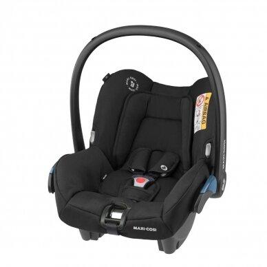 Automobilinė kėdutė Maxi Cosi Citi2 (0-13 kg), Essential Black
