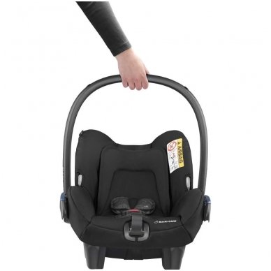 Automobilinė kėdutė Maxi Cosi Citi2 (0-13 kg), Nomad Black 7
