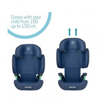 Automobilinė kėdutė Maxi Cosi Morion I-Size, 15-36 kg, Basic Blue 3
