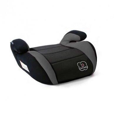 Automobilinė kėdutė - Paaukštinimas Baby Go 15-36kg Grey