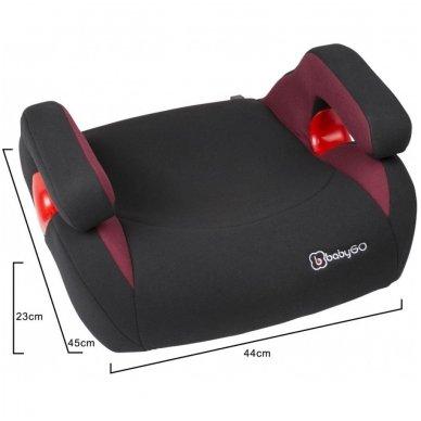 Automobilinė kėdutė - paaukštinimas Bursa IzoFix 15-36kg 13
