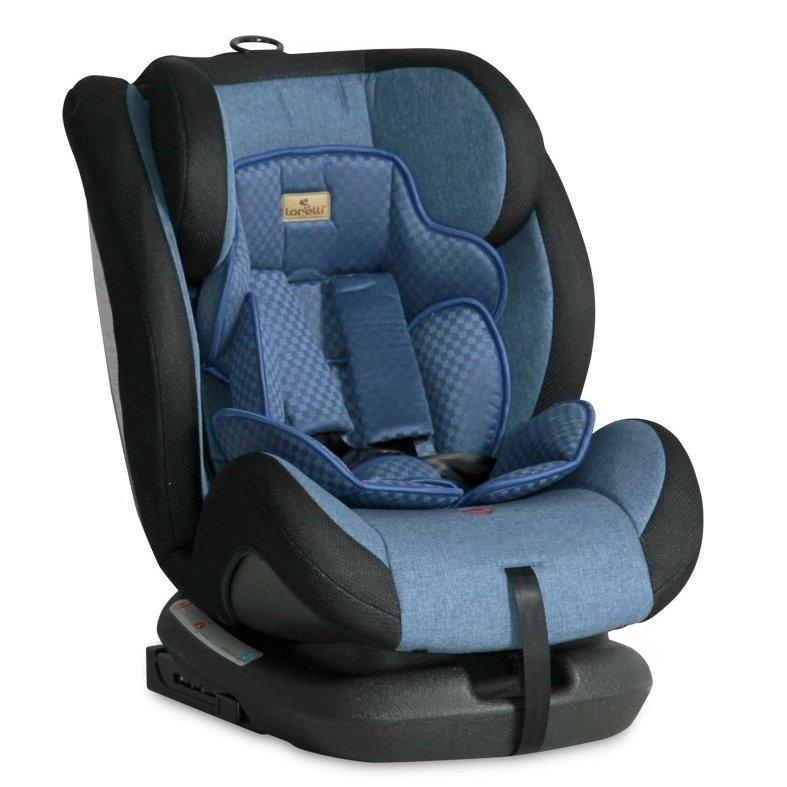 Car Seat Lorelli, Rialto Isofix, Blue 0-36 kg