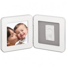 My Baby Touch Rounded Frame white/grey