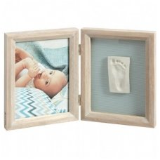 My Baby Touch Wooden Frame  stormy