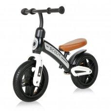 Balansinis dviratukas Lorelli Bike SCOUT AIR, Black