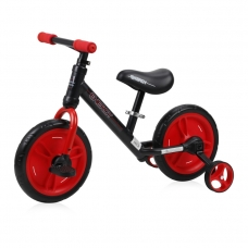 Balansinis dviratukas Lorelli Energy 2in1, raudonas