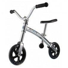 Balansinis dviratukas MICRO G-Bike Chopper sidabrinis