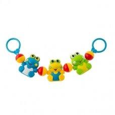 Barškutis vežimėliui Frog