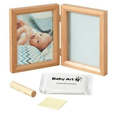 Baby Art dvigubas stačiakampis nuotraukos rėmelis su įspaudu honey 2