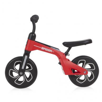 Balansinis dviratukas Lorelli Spider, raudonas 2