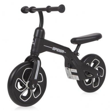 Balansinis dviratukas Lorelli Spider, juodas