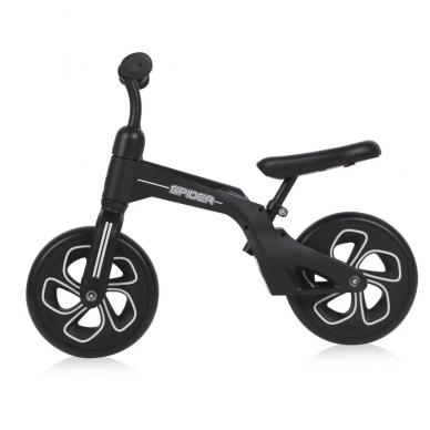 Balansinis dviratukas Lorelli Spider, juodas 2
