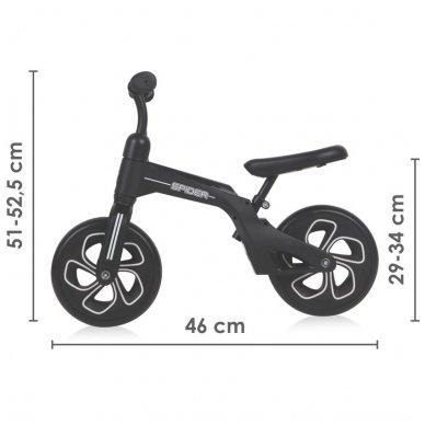 Balansinis dviratukas Lorelli Spider, juodas 4