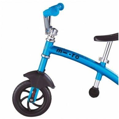 Balansinis dviratukas MICRO G-Bike Chopper Deluxe mėlynas 2