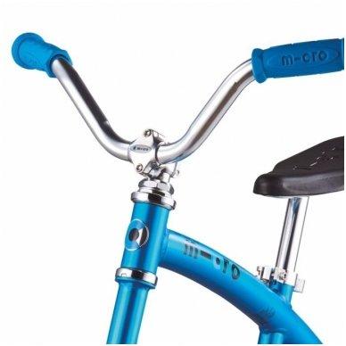 Balansinis dviratukas MICRO G-Bike Chopper Deluxe mėlynas 3