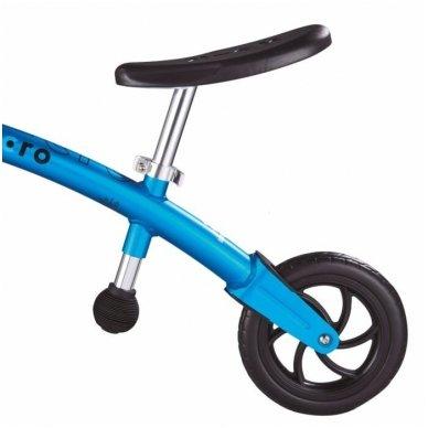 Balansinis dviratukas MICRO G-Bike Chopper Deluxe mėlynas 4