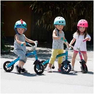 Balansinis dviratukas MICRO G-Bike Chopper Deluxe mėlynas 5