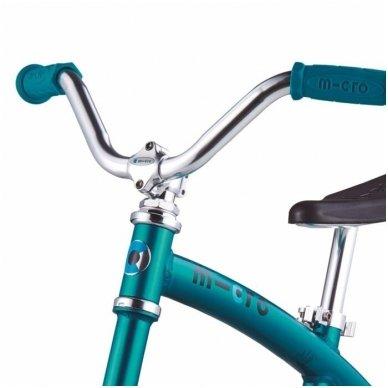Balansinis dviratukas MICRO G-Bike Chopper Deluxe žydras 7