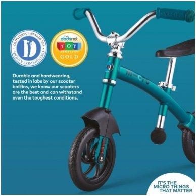Balansinis dviratukas MICRO G-Bike Chopper Deluxe žydras 13