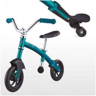 Balansinis dviratukas MICRO G-Bike Chopper Deluxe žydras 3