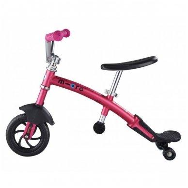 Balansinis dviratukas MICRO G-Bike Chopper Deluxe rožinis 2