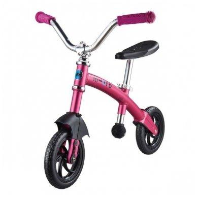 Balansinis dviratukas MICRO G-Bike Chopper Deluxe rožinis 4