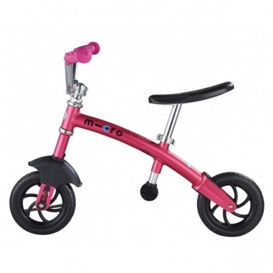 Balansinis dviratukas MICRO G-Bike Chopper Deluxe rožinis 5
