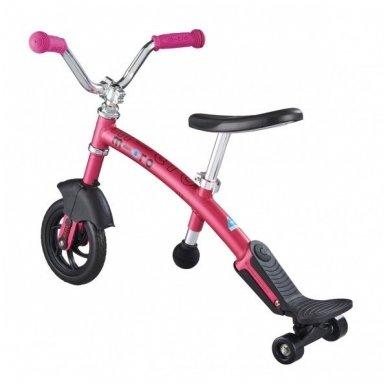 Balansinis dviratukas MICRO G-Bike Chopper Deluxe rožinis