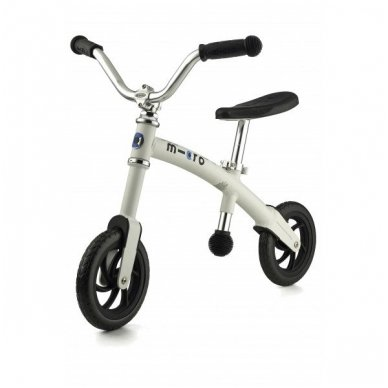 Balansinis dviratukas MICRO G-Bike Chopper baltas