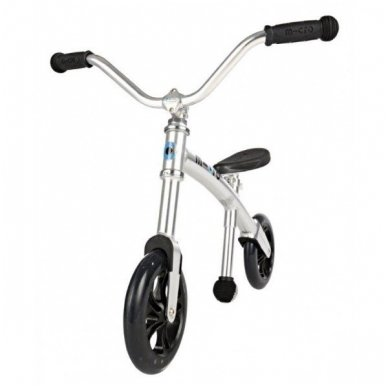 Balansinis dviratukas MICRO G-Bike Chopper sidabrinis 3