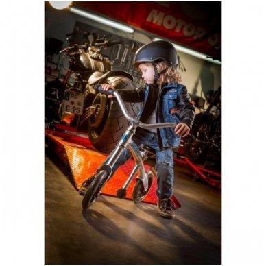 Balansinis dviratukas MICRO G-Bike Chopper sidabrinis 4