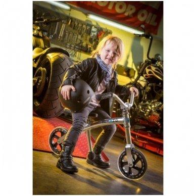 Balansinis dviratukas MICRO G-Bike Chopper sidabrinis 5