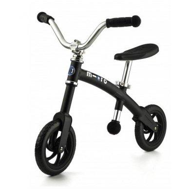 Balansinis dviratukas MICRO G-Bike Chopper juodas
