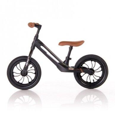 Balansinis dviratukas Racer, juodas 2 2