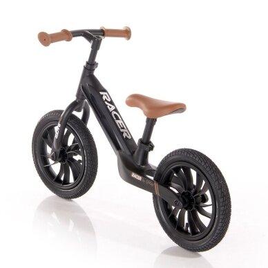Balansinis dviratukas Racer, juodas 2 3