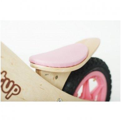 Balansinis dviratukas Tup Tup Pink 4