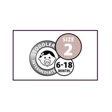 Čiulptukai BIBS COLOUR Lavender/ Baby Pink 10