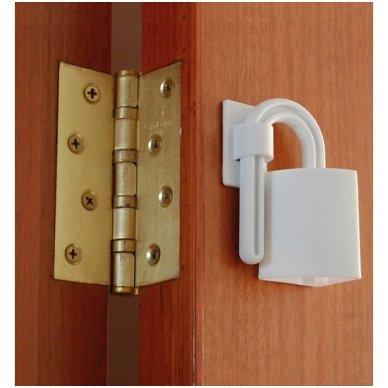 Durų apsauga 2vnt 3