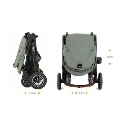 Joie Versatrax vežimėlis 2in1, Grey Flanel 10