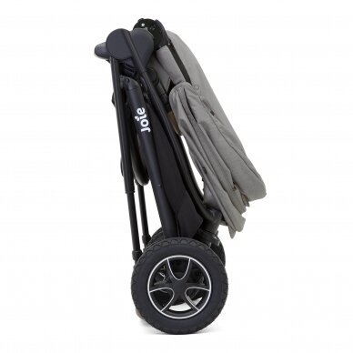 Joie Versatrax vežimėlis 2in1, Grey Flanel 8