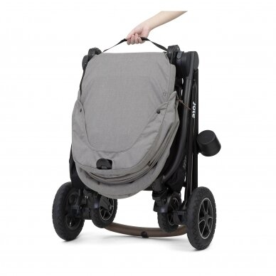 Joie Versatrax vežimėlis 2in1, Grey Flanel 7