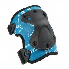 Kelių ir alkūnių apsaugos MICRO mėlynos V2 (M dydis)