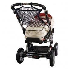 Universalus tinklinis krepšys vežimėliui