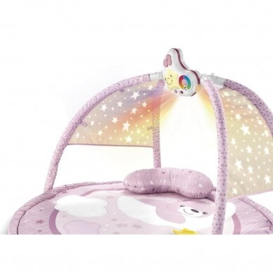 Lavinamasis kilimėlis First Dreams Pink, Chicco  3