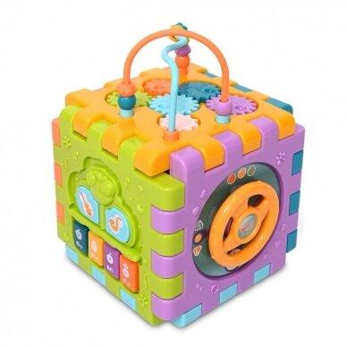 Lavinamasis kubas Activity Cube 2