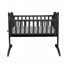 Lopšelis Anna Swinging crib Grey