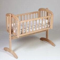 Lopšelis Anna Swinging crib Natural